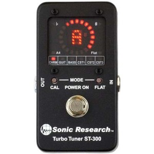 Sonic Research 터보튜너 Turbo Tuner st-300 full-size (국내정식수입품) 당일발송