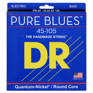 DR Quantum nickel/Round core PURE BLUES PB45-105 4현 베이스용