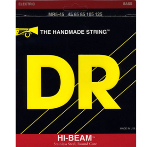 DR Hi Beam Stainless Steel Round Core Long Scale LMR5-45 (045-125) 5현베이스용