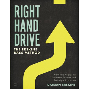RIGHT HAND DRIVE by Damian erskine (BOOK) 베이스교재